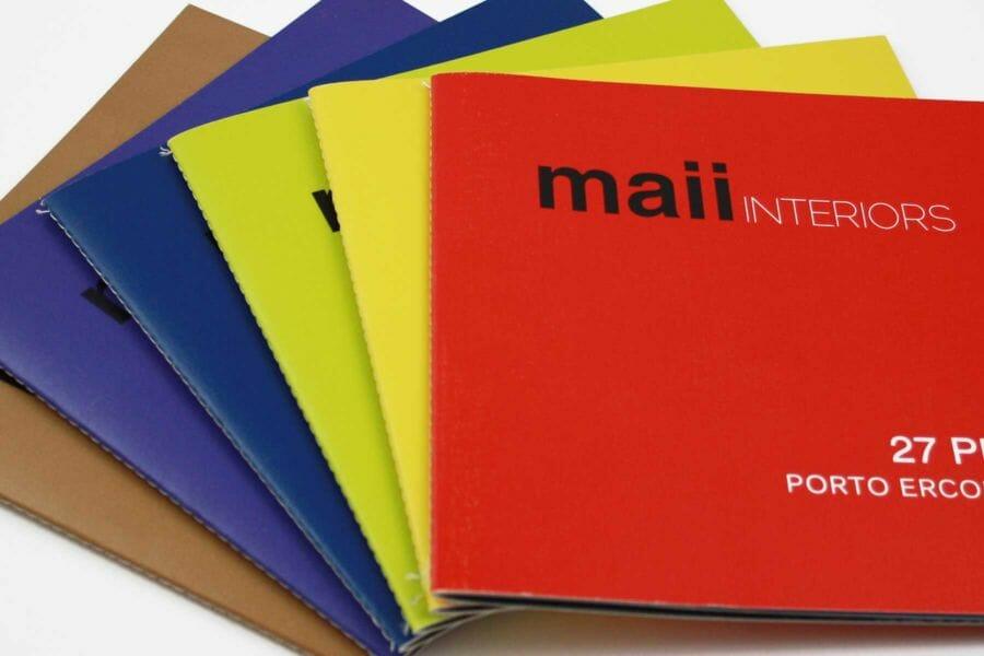 Possibilità di stampa in digitale del colore attraverso il colore pantone richiesto.