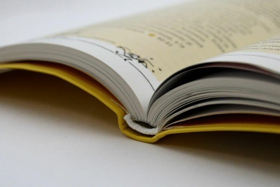 Cartonato olandese - Rilegatura che imita il cartonato attraverso l'uso di carta di alta grammatura, senza ricorrere al cartone. Grazie a questa particolarità la copertina rimane morbida e si piega con facilità.